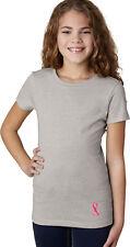 Buy Cool Shirts Girls Breast Cancer T-shirt Sequins Ribbon Bottom Print