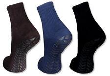 ABS Socken 2 Paar Anti-Rutsch Stoppersocken Reifenprofil Homesocks Frotteesocken