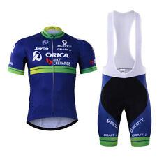 KJF228 cyclisme vélo manche courte vêtements hommes costume