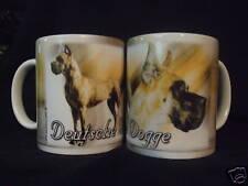 Tasse / Mug - motif chien  DOGUE ALLEMAND FAUVE