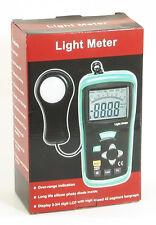 DT-1308 400K LUX 40K FC Digital LCD Light Meter foot-candle Luxmeter Tester NEW