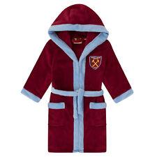 West Ham United FC officiel - Robe de chambre à capuche - polaire - garçon