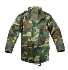Kids - Boys Woodland Camo M-65 Field Jacket with Hat