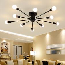 Black Chandelier Lighting Flush Mount Ceiling Lights Kitchen Lamp Pendant Light