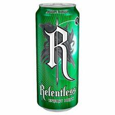 RELENTLESS Energy Drinks 500ml x 12 pack  Apple & Kiwi