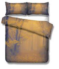 Thick Mist Forest 3D Quilt Duvet Doona Cover Set Single Double Queen King Print