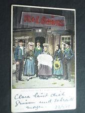 Badische Volkstrachten, Baden folk costumes, 1908