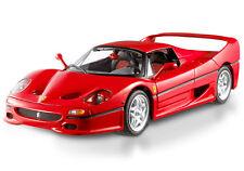 FERRARI F50 RED by HOT WHEELS ELITE 1:18 BRAND NEW IN BOX & NEW LOWER SALE PRICE