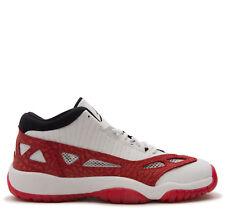 "Grade School Youth Size Nike Air Jordan Retro 11 Low IE ""Gym Red"" 919713 101"