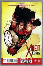 X-MEN LEGACY #2 - MIKE DEL MUNDO COVER - TAN ENG HUAT ART - MARVEL NOW! - 2012