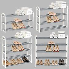 Schuhregal Schuhablage Schuhständer Schuh Ständer aus Metallrohr Creme #716