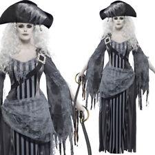 Donna NAVE FANTASMA principessa pirata costume halloween smiffys 22970