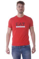 T-shirt Maglietta Emporio Armani EA7Sweatshirt % Uomo Rosso 3YPTM1PJ20Z-1451
