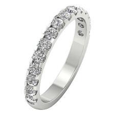 I1 G Natural Diamond 1.30 Ct 14K Solid Gold Wedding Ring Prong Set Appraisal