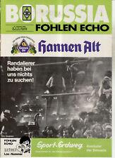 BL 84/85 Borussia Mönchengladbach - Borussia Dortmund