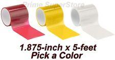 Lens Repair Tape Red, Amber/Orange Or Clear Car Auto Truck RV Broken Light Kit