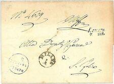 LOMBARDO VENETO: BUSTA con ANNULLO : LONATO 1859: 2a GUERRA INDIPENDENZA