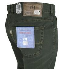 JOKER Jeans | Clark ( Comfort Fit ) 3401/ dunkelgrün Twill-Stretch