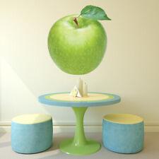 Groene appel Vers fruit Muursticker WS-45070