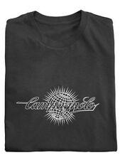 Campagnolo Algodón Camiseta con el logotipo del mundo