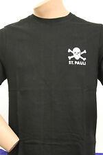 FC St. Pauli Shirt Totenkopf,schwarz , S+L-XXL , Neu