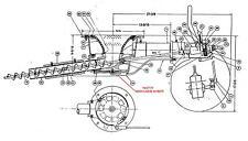 EFM PART # 9433739 SHOULDER SCREW FOR DF520 SERIES STOKER BOILER