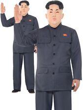 Kim Jung un Coréen Roquette Dictateur President Costume Déguisement Hommes M