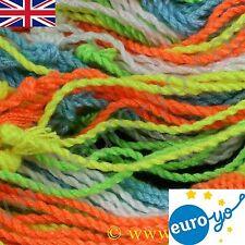 25 Euro-Yo Polyester Yo-Yo Strings suitable for all yoyo makes Choice of colours