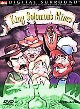 NEW SEALED King Solomon's Mines (DVD, 2000)