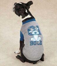 Dog is Good Bolo  Raglan Dog Tee T-Shirt Top Tees  Pet Gray Grey Blue XXS-XL