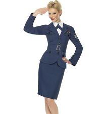 Femmes WW2 Années 40 Armée De L'Air Britannique Capitaine Déguisement Nouveau