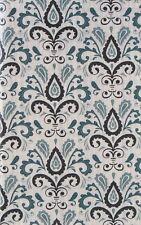 Floral Paisley Design Vinyl Flannel Back Tablecloth Various Sizes
