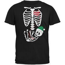 Halloween Elf Baby Skeleton Black Adult T-Shirt