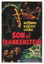 Son of Frankenstein (1939) Bela Lugosi Boris Karloff Horror movie poster print 2