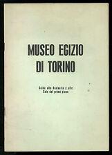 SCAMUZZI E. MUSEO EGIZIO DI TORINO GUIDA ALLO STATUARIO E ALLE SALE PRIMO PIANO
