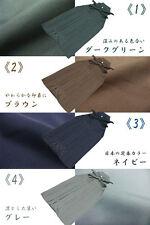 JAPANESE KIMONO HAKAMA MEN'S UMANORI PANTS TYPE  NEW 7color 5size  SS-LL