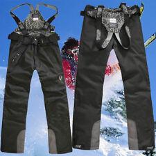 2018 New Men's Sports Waterproof Windproof Ski Snow Pants Overalls Trousers Warm