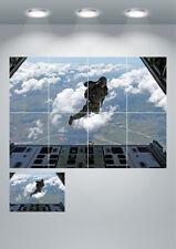 SOLDATO Paracadutista SKY DIVE Grande Stampa Wall Art Poster