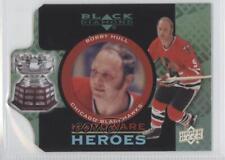 2012-13 Upper Deck Black Diamond Hardware Heroes #HH-BH Bobby Hull Hockey Card