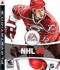 NHL 08 (Sony PlayStation 3, 2007)  GOOD