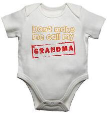Baby Westen Body Baby Wachsen Don't Machen Ich Rufen Sie Mein Grandma Baumwolle