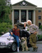 Michael J Fox & Christopher Lloyd Back to the Future 2] 20.3cmx25.4cm