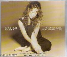 Mariah Carey - Without You/Never Forget You - UK CD