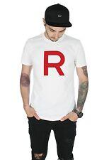 Team Rocket T-shirt Top Pokemon Go R Gamer Gaming Jessie James Valor Mystic