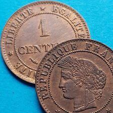 1 Centime CERES 1877-1897  choisissez votre année