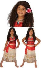 Vaiana Disney Häuptlingstochter Prinzessin Kinder Karneval Kostüm
