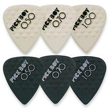 Pickboy Keramik Plektren Plektrum Picks Pleks Plektra Plektron Gitarre 6 Stück