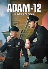 Adam-12: Season 5 (DVD, 4-Disc Set) Martin Milner, Kent Mccord, Jack Webb