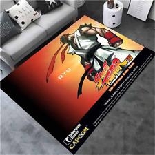 Game Street Fighter Velboa Floor Rug Carpet Bedroom Parlor Non-slip Chair Mat #3