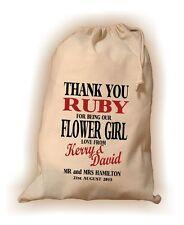 Personalised Flower Girl Gift Bag -  Various Sizes - Ruby Design
